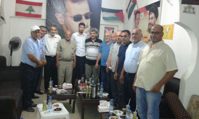 فصائل المقاومة الفلسطينية في صور تعقد اجتماعًا في مكتب الصاعقة