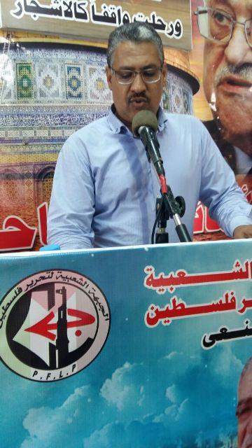 الجبهة الشعبية: شعبنا الفلسطيني هو الأكثر تمسكًا بحق العودة ورفضا للتوطين .