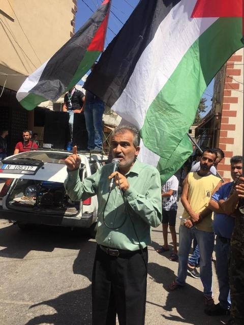 مراد في مسيرة البص: منفتحون على الحوار، ونرفض أن نُخنق بصمت