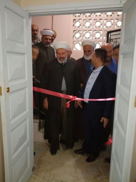 افتتاح مركز الحكيم الطبي في مخيم برج الشمالي