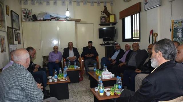 الفصائل الفلسطينية في منطقة صور تدعو الى تعزيز صمود الشعب الفلسطيني في مواجهة المؤامرات المعادية
