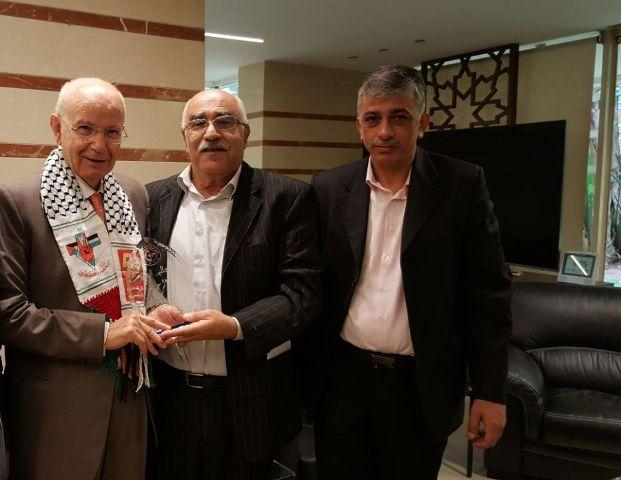 الشعبية في بيروت تزور رئيس حزب الاتحاد عبد الرحيم مراد