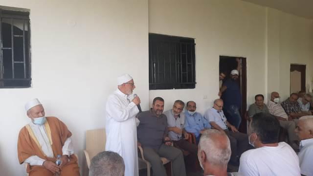 ذكرى ثالث المرحومة الحاجة المناضلة (ام خليل عبادي) في مخيم البرج الشمالي