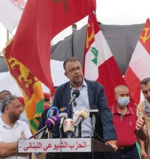 في تظاهرة عيد العمال العالمي: عبد العال: القدس لا تقبل القسمة على اثنين