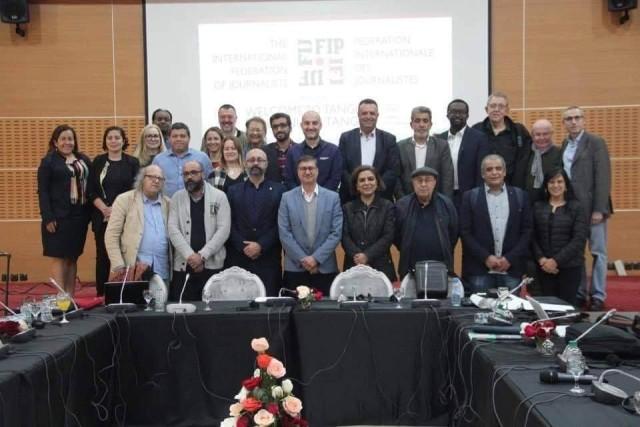 الاتحاد الدولي يطالب الجنائية الدولية بالتحقيق في اعتداء الاحتلال على صحافي فلسطين