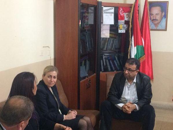 سفيرة دولة النرويج في لبنان تزور الجبهة الشعبية