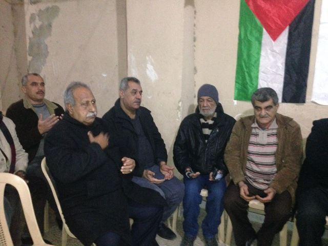 نادي الناصرة الرياضي يقيم احتفالًا لمناسبة عملية القدس البطولية.
