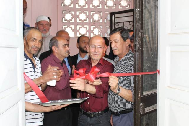 افتتاح ناد للشباب في مخيم البرج الشمالي
