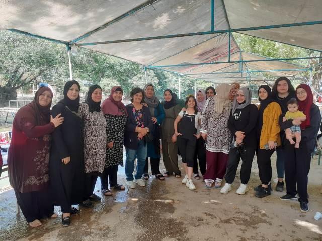 رحلة ترفيهية للجان المرأة الشعبية الفلسطينية في بيروت