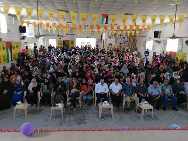 جمعية ناشط تنظم حفلًا تكريميًا حاشدًا للناجحين بالشهادة المتوسطة