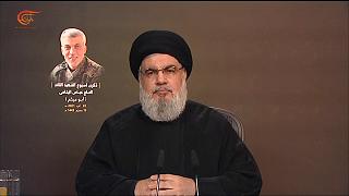 السيد نصر الله: السفارة الأميركية تستهدف اللبنانيين.. وسفن أخرى ستبحر من إيران إلى لبنان