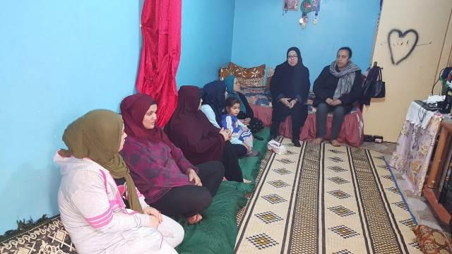 لجان المرأة الشعبية تقيم ندوة سياسية في مخيم البداوي