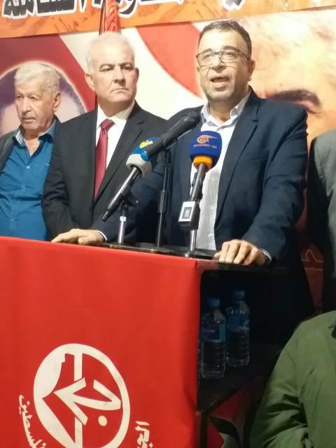 في ذكرى انطلاقة الجبهة الشعبية الـ52: عبد العال: إن الجبهة لا يمكن أن تنهزم.