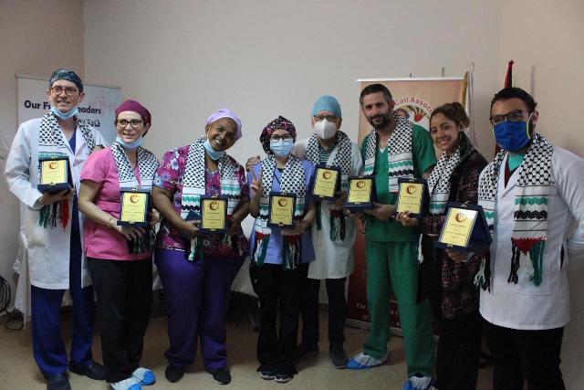 مستشفى النداء الإنساني تستقبل بعثة طبية من جمهورية الدومينيكان