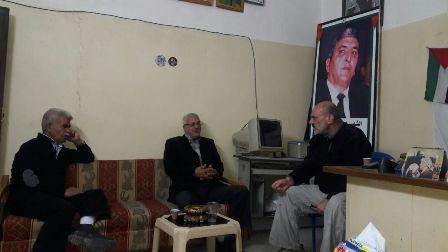 الشعبية في صيدا تلتقي جبهة النضال الشعبي الفلسطيني