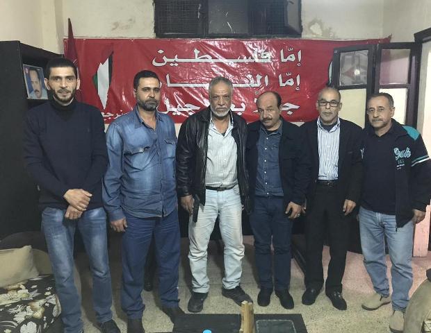اللجان العمالية الشعبية الفلسطينية تلتقي كتلة عمال جبهة النضال الشعبي الفلسطيني