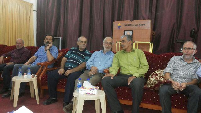 الجبهة الشعبية تقدم واجب العزاء بوفاة شقيق الحاج محمد صالح عضو المجلس السياسي لحزب الله