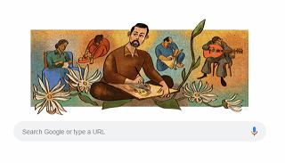 جوجل يحتفل بذكرى ميلاد الفنان التشكيلي السوري لؤي كيالي