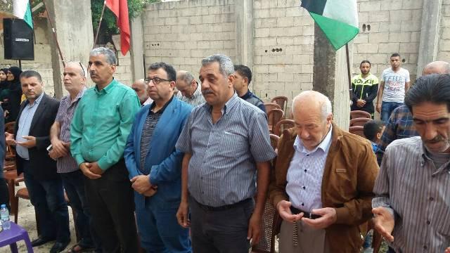 اللجان العمالية الشعبية الفلسطينية في نهر البارد تحتفي بالأول من أيار