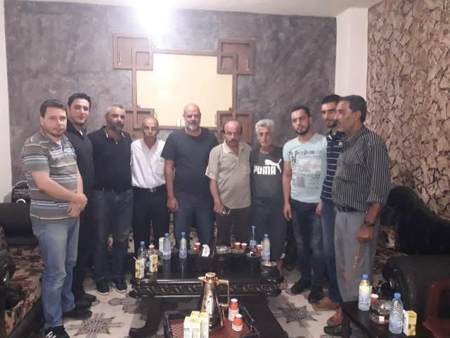 الشعبية في صيدا تزور لجنة حي القدس