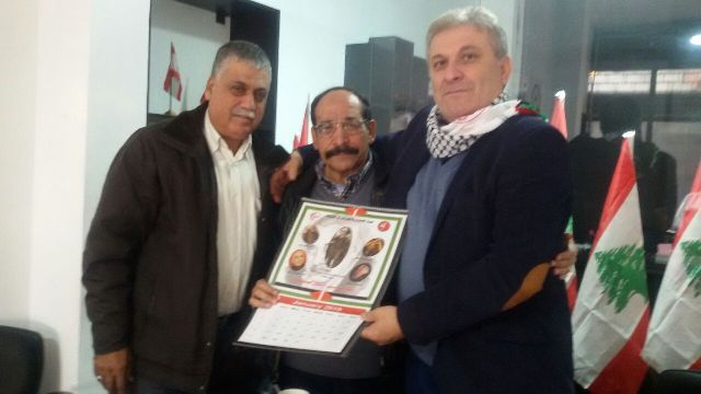 اللجان العمالية الشعبية في صيدا تلتقلي السيد ناصر حرب