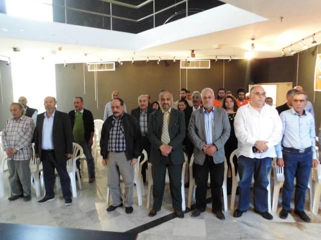 اللجان العمالية الشعبية الفلسطينية في صيدا أقامت لقاءًا نقابيًّا تشاوريًّا