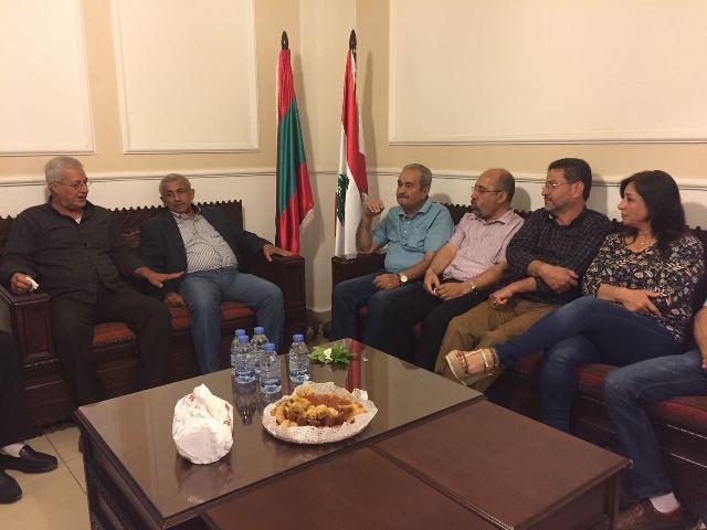 الشعبية في صيدا تقدم التهنئة للنائب الدكتور أسامة سعد لفوزه في الانتخابات النيابية