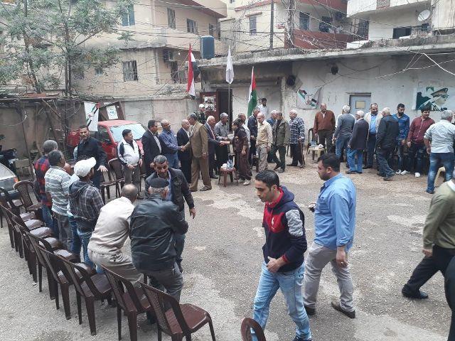 الجبهة الشعبية تهنئ حزب البعث ومنظمة الصاعقة