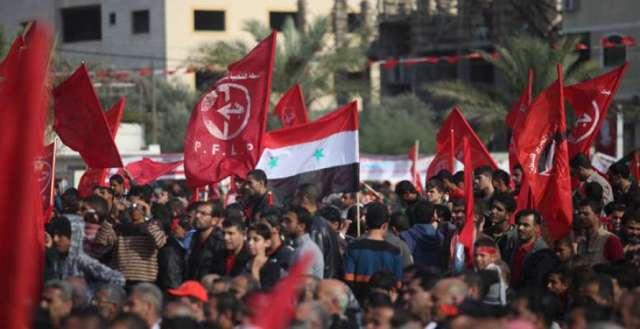 الشعبية تدين التهديدات الأمريكية بشن عدوان ضد سوريا