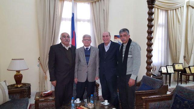 الشعبية في لبنان تلتقي سفير روسيا الاتحادية