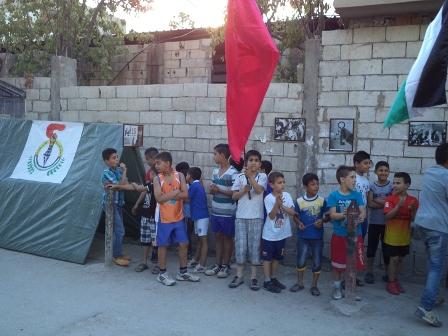 منظمة الشبيبة الفلسطينية تقيم معرضاً للصور في ذكرى النكبة