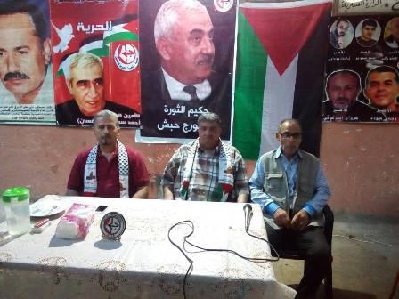 الأسير المحرر أنور ياسين يتضامن مع الأسرى المضربين عن الطعام