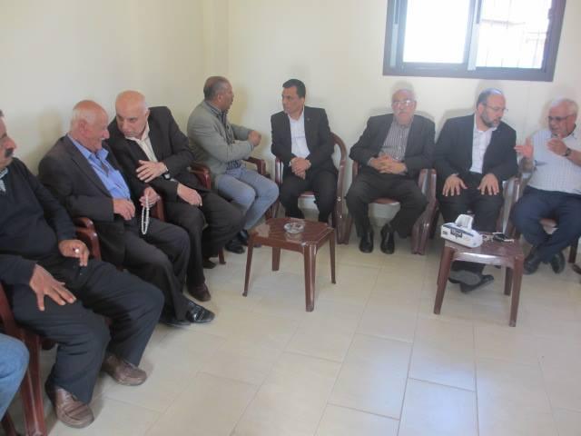 الشعبية في لبنان تتقبل التعازي بالقيادي الراحل محمود أبو هنطش