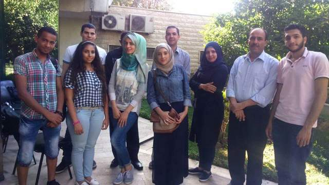 دورة تدريبية في دمشق على