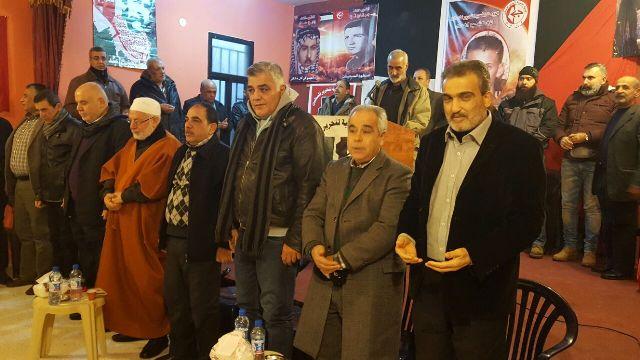 الشعبية في صور تتقبل التبريكات بعملية القدس البطولية