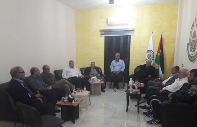 الشعبية في صيدا تلتقي بقيادة تحالف القوى الفلسطينية
