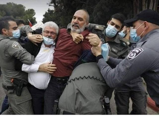 شرطة الاحتلال تعتقل المناضل محمد كناعنة أبو أسعد