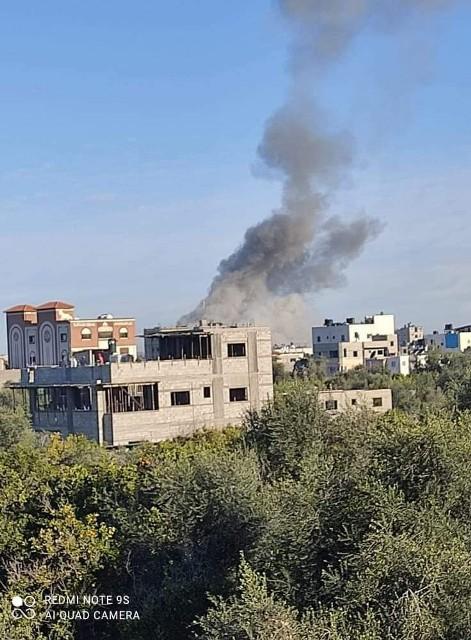 اصابات في انفجار كبير شمال القطاع
