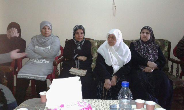 ندوة سياسية للجان المرأة في مخيم الرشيدية
