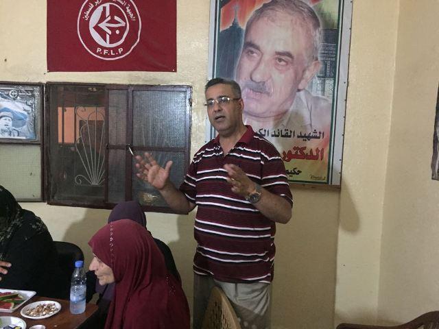 لجان المرأة الفلسطينية تنظم سلسلة من اللقاءات في مخيم البص وتجمعي القاسمية وكفر بدا