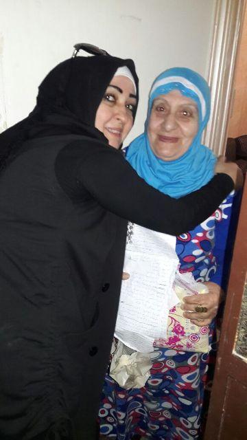لجان المرأة الشعبية الفلسطينية في مخيم برج البراجنة تعايد الأمهات