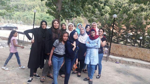 لجان المرأة واللجنة الاجتماعية أقامتا رحلة إلى منطقة القاسمية
