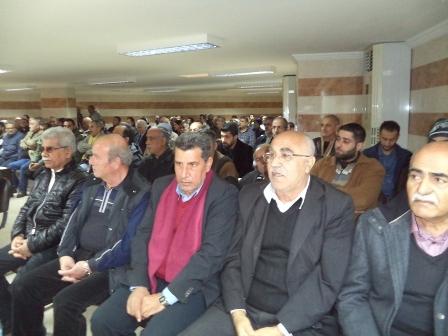 الشعبية تشارك في ذكرى مرور ثلاثة أيام على وفاة أبو محمد رنو
