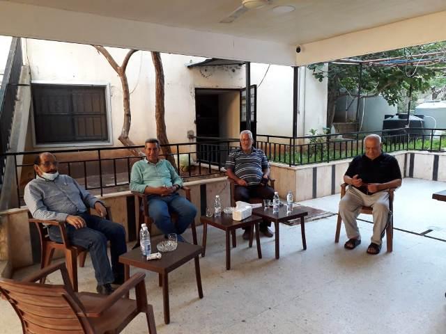 الشعبية في صيدا تزور المناضل أبو عاطف رزق