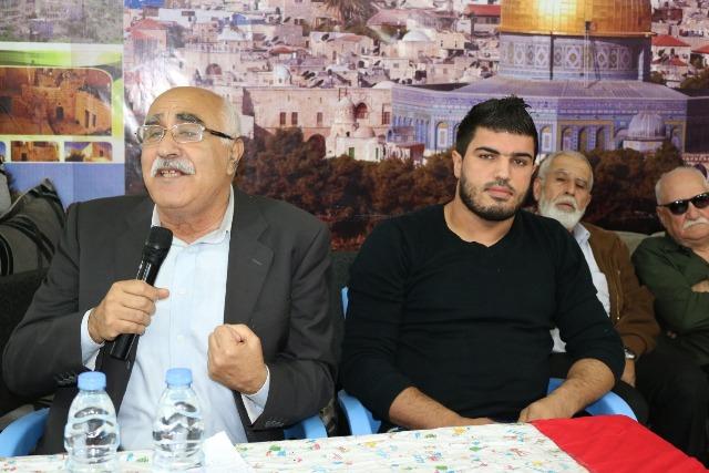 ندوة سياسية في مخيم الرشيدية لمناسبة اليوم العالمي للتضامن مع الشعب الفلسطيني والذكرى الـ 51 لانطلاقة الجبهة الشعبية