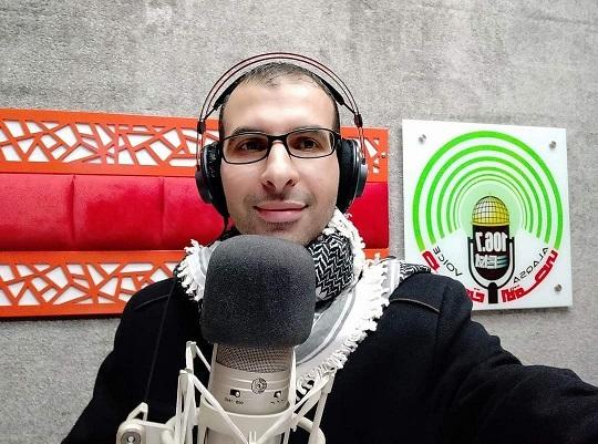 استشهاد الزميل الصحفي يوسف أبو حسين في قصفٍ صهيوني بمدينة غزة