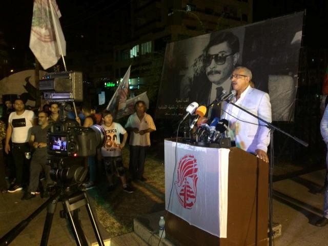 أسامة سعد: خيار المقاومة هو السبيل لتحرير الأرض المحتلة والتغيير