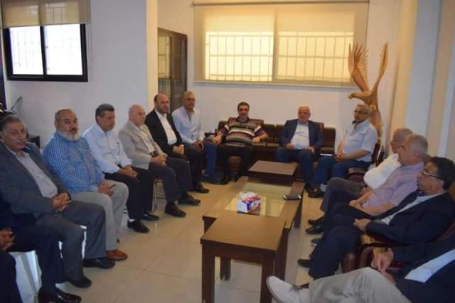 سعد لوفد فلسطيني: إجراءات وزارة العمل تضعف قدرة لبنان على مواجة الأزمات