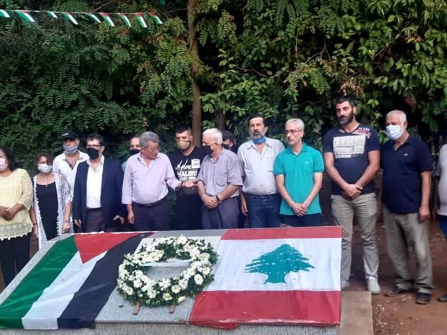 الفصائل الفلسطينية تحيي ذكرى مجزرة صبرا وشاتيلا ال 38