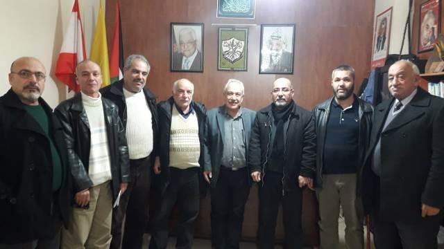 الشعبية في صيدا تلتقي حركة فتح في إقليم الخروب